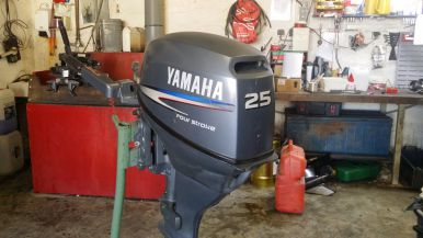 Moteur Occasion Yamaha Moteur Yamaha 25 Cv F25amh 2003 Bateau Location De Voilier Et Sport Nautique