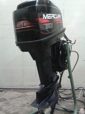 Moteurs mercury 50 cv hors bord occasion mercury 50 elpt for Housse moteur hors bord mercury